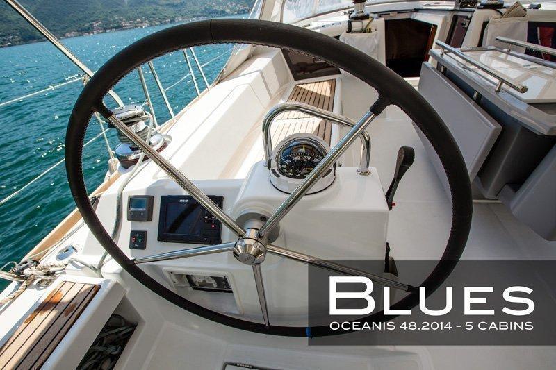 Oceanis 48 - 5 cab. (Blues)  - 3
