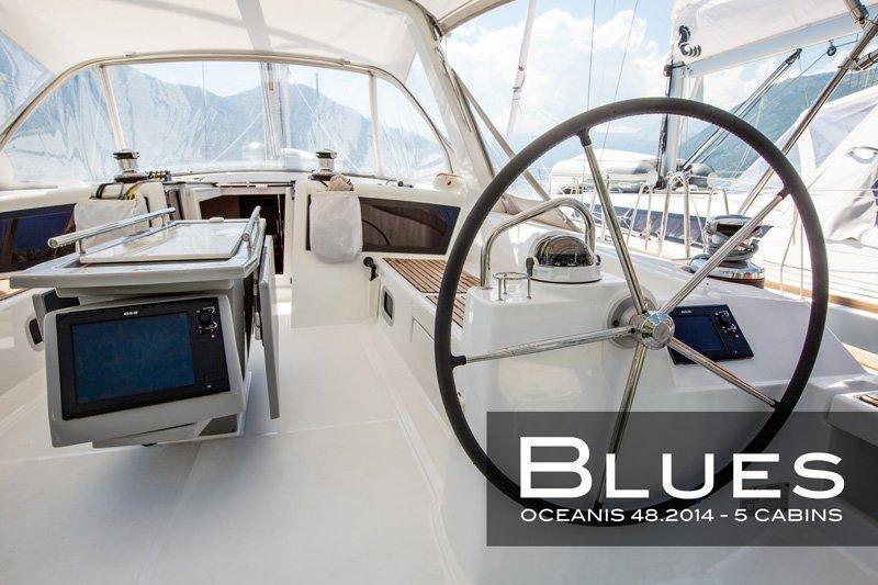Oceanis 48 - 5 cab. (Blues)  - 4