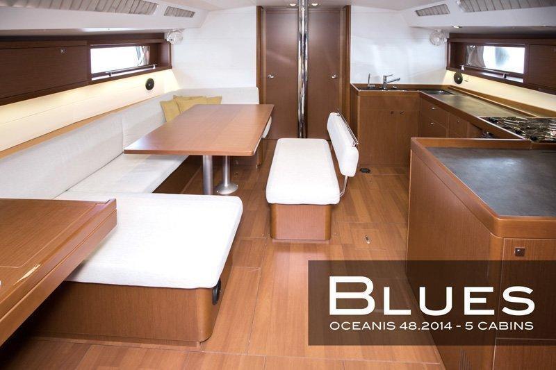 Oceanis 48 - 5 cab. (Blues)  - 7