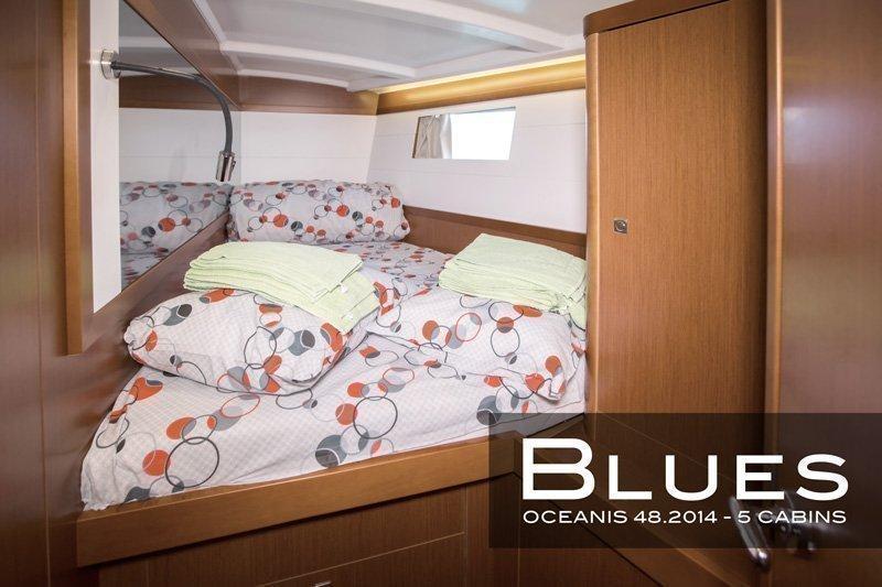 Oceanis 48 - 5 cab. (Blues)  - 9