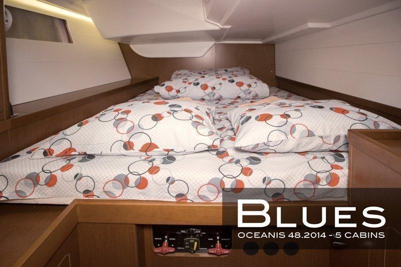 Oceanis 48 - 5 cab. (Blues)  - 10