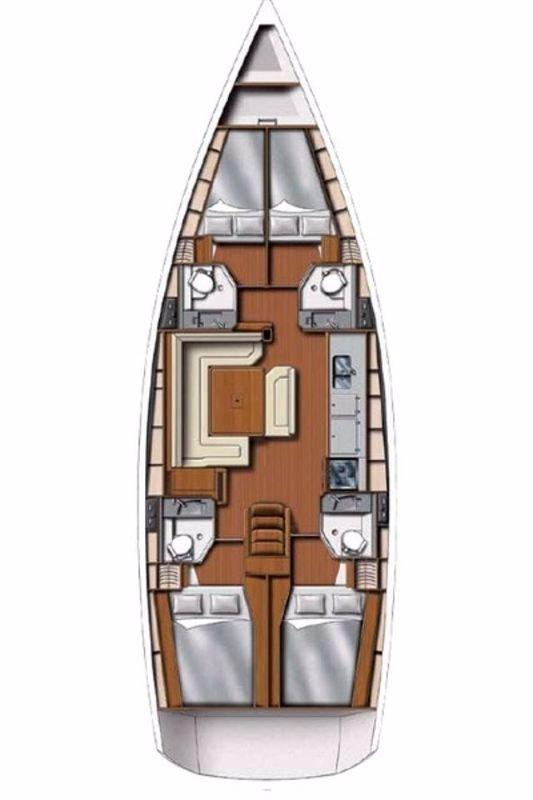 Sun Odyssey 469* (BAYseeker)  - 1