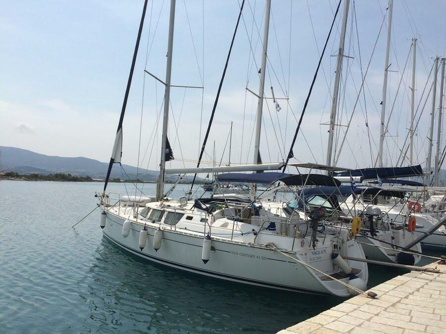 Sun Odyssey 43 DS (Nikolaos)  - 2