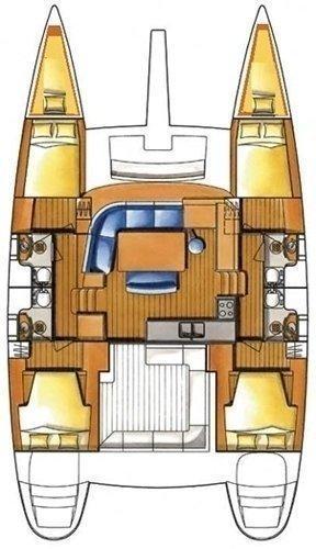 Lagoon 400 S2 - 4 + 2 cab. (Barnacle II)  - 1