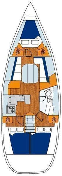 Oceanis Clipper 373 (Liberte)  - 1
