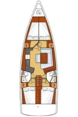 Oceanis 45 - 4 cab. (Kiki)  - 1