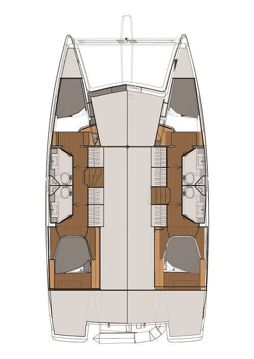 Fountaine Pajot Lucia 40 (Relax Planet)  - 1