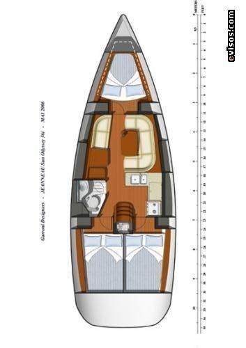 Sun Odyssey 36i (Sail Mira)  - 1