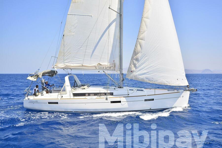 Oceanis 45 - 4 cab. (Mibipay)  - 18
