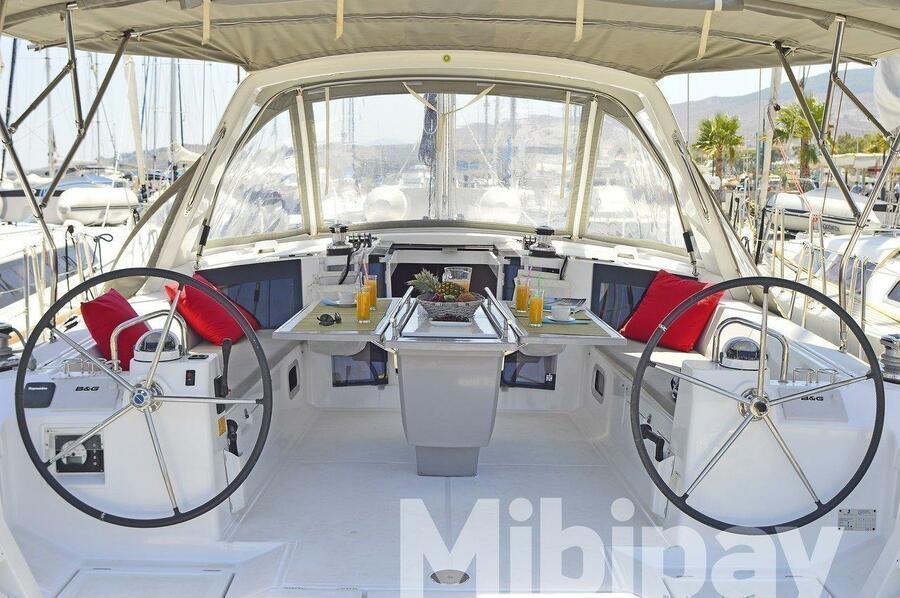 Oceanis 45 - 4 cab. (Mibipay)  - 9