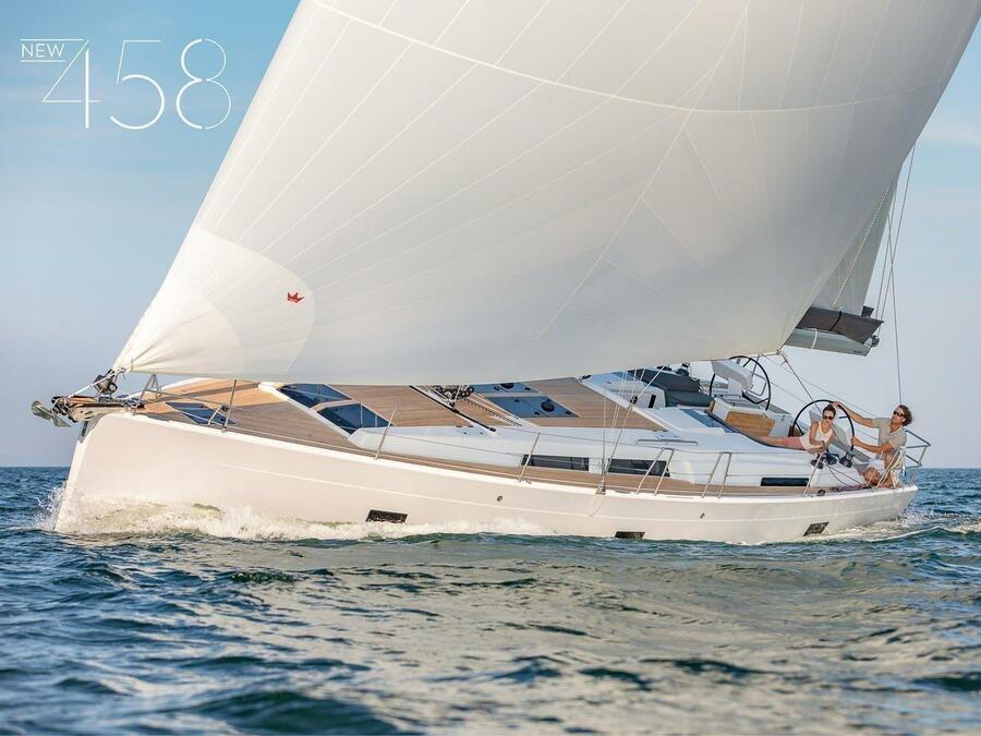 Hanse 458 (Adagio, A/C - shore power only)  - 4