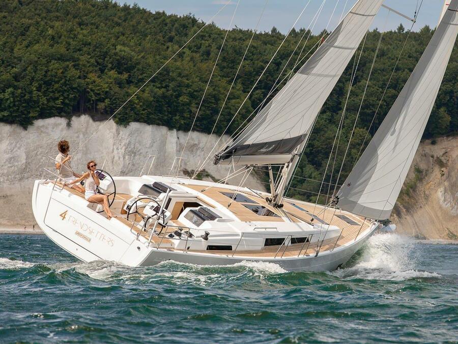 Hanse 458 (Adagio, A/C - shore power only)  - 6