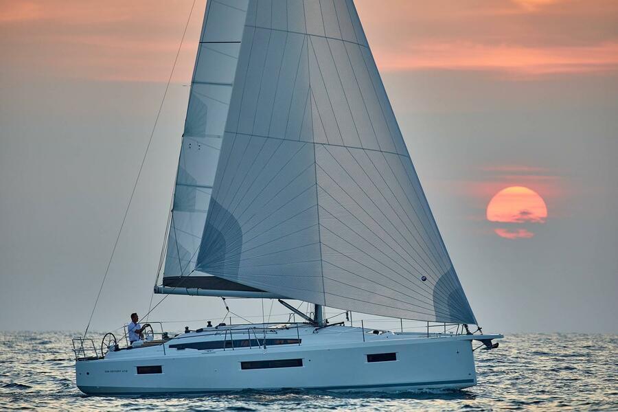 Sun Odyssey 410 - 3 cab. (Aquaholic)  - 3