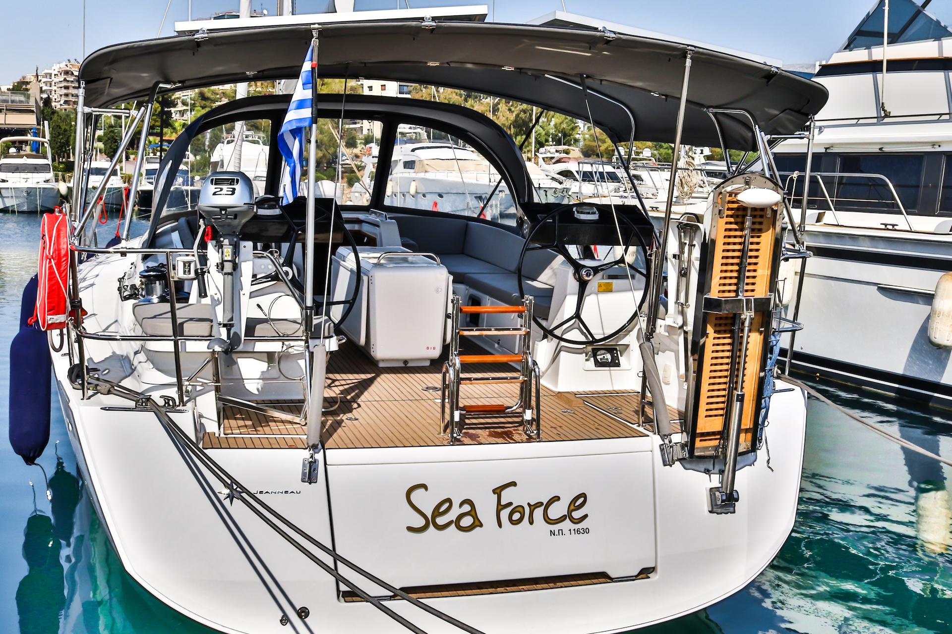 Jeanneau 54 - 5 + 1 cab. (Sea Force)  - 3