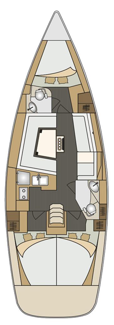 Elan Impression 40 (Anadea (LCD TV, full batten mainsail, bowthruster))  - 1