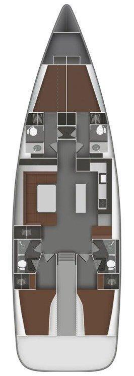Bavaria Cruiser 55 - 4 cab. (STRIC)  - 1