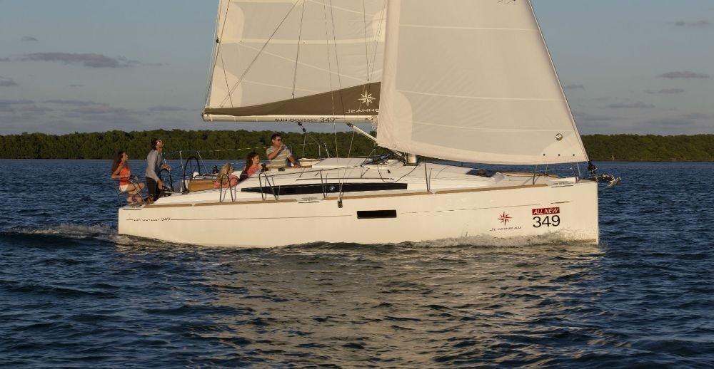 Sun Odyssey 349 (Castor)  - 5