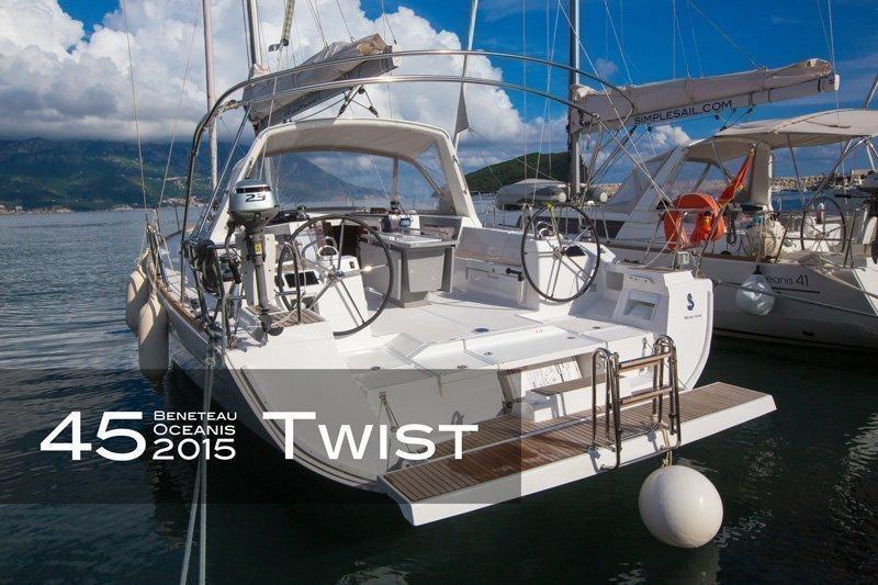 Oceanis 45 - 4 cab. (Twist)  - 3