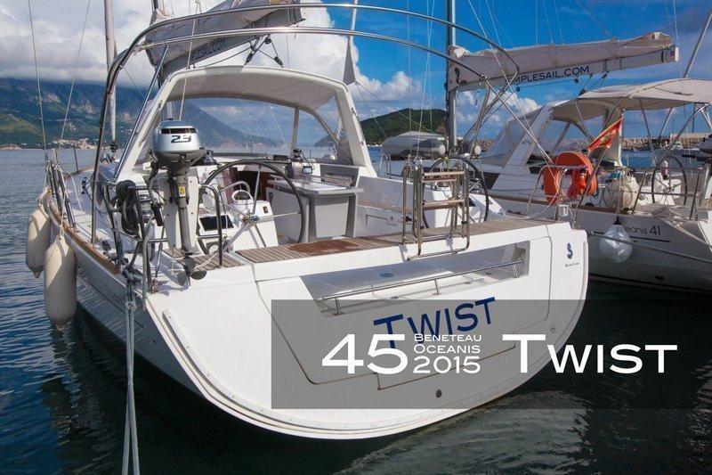 Oceanis 45 - 4 cab. (Twist)  - 5