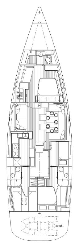 Jeanneau 64 - 4 cab. (Bubamare (crewed))  - 1