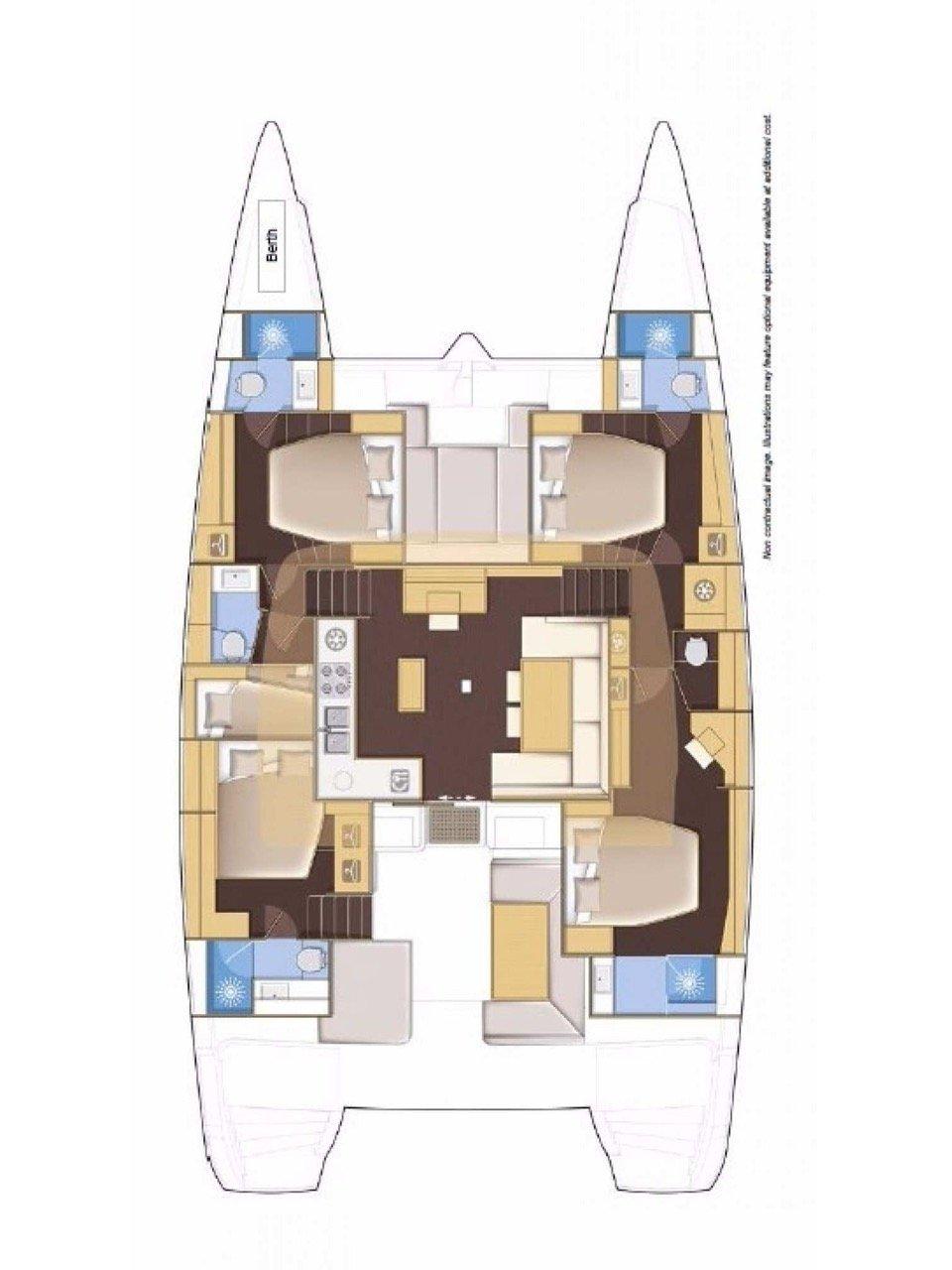 Lagoon 52 F - 5 cab. (Why Fy)  - 1