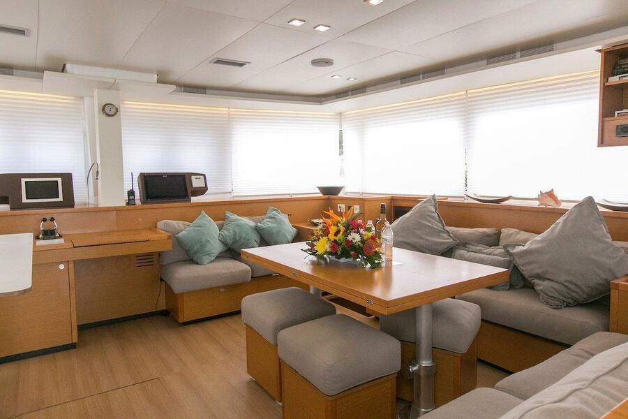 Lagoon 560 S2 - 5 cab. (Grande Dame Crewed (Cabin charter)1)  - 5