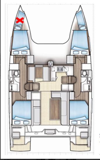 Nautitech 40 Open - 4 + 1 cab. (Pura Vida)  - 1