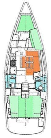 Oceanis 43 (Sifnos 43.1)  - 1