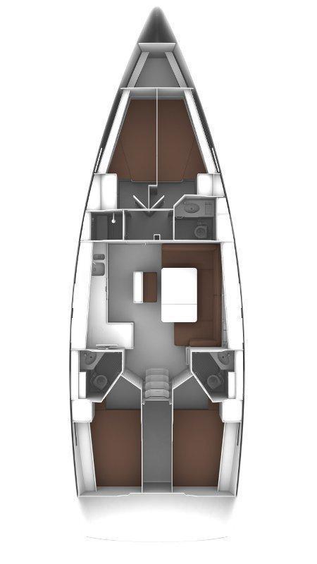 Bavaria Cruiser 46 - 4 cab. (Ticija with A/C and generator)  - 1
