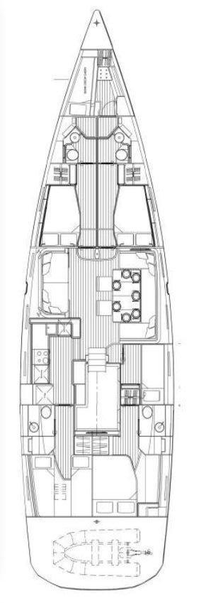 Jeanneau 64 - 5 + 1 cab. (JORM)  - 1