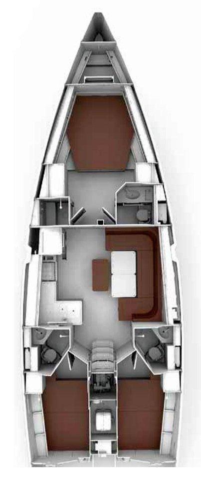 Bavaria Cruiser 46 Style - 4 cab. (MARLIN)  - 1