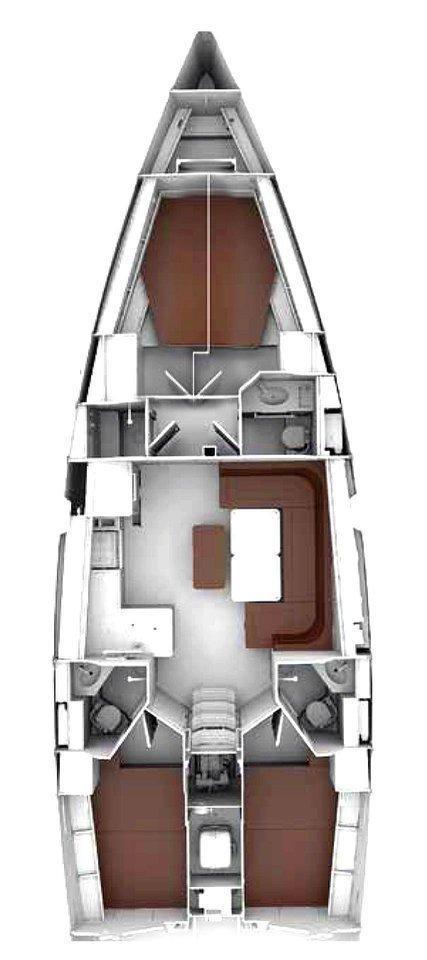 Bavaria Cruiser 46 Style - 4 cab. (MARLIN)  - 6