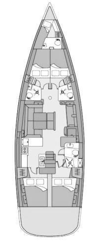 Oceanis 54 - 4 + 1 cab. (Angelina)  - 1