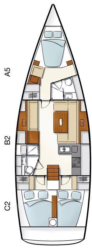 Hanse 430 (TRIA S)  - 1