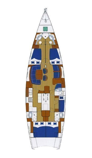 Beneteau 57 (Sea Star I)  - 1