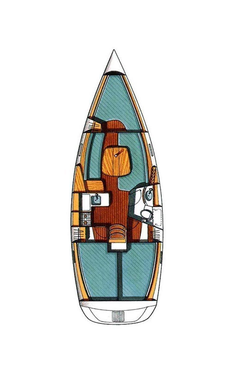 Oceanis Clipper 331 (Wind 1)  - 1