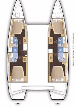 Lagoon 46 - 4 + 2 cab. (NOHEA HOLOKAI)  - 1