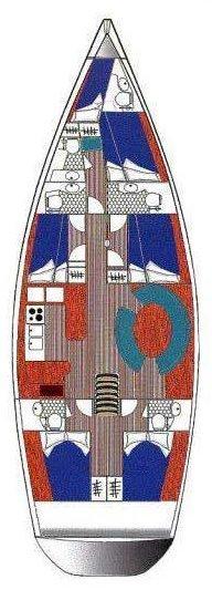 Ocean Star 56.1 - 6 cab. (Santorini)  - 1