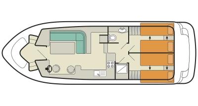 Tango (4+2) (Canal boat comfort)  - 1
