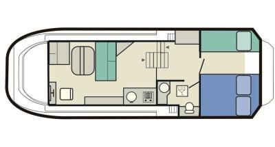 Sheba (3+2) (Canal boat budget)  - 1