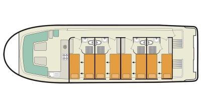 Vision4 (8+1) (Canal boat premier)  - 1