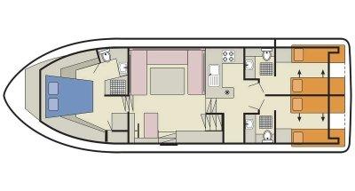 Royal Classique (6) (Canal boat comfort)  - 1
