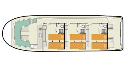 Vision3 (6+3) (Canal boat premier)  - 0
