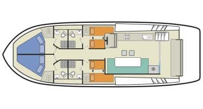 Horizon 4 (8+1) (Canal boat premier)  - 1