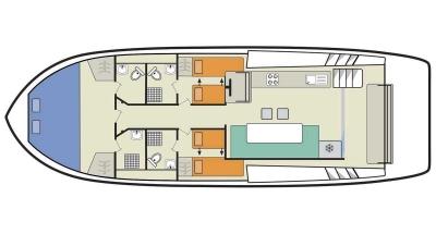 Horizon 3 (6+1) (Canal boat premier)  - 1