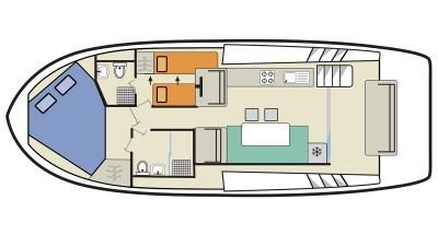 Horizon 2 (4+1) (Canal boat premier)  - 0