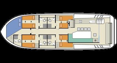 Horizon 5 (10+2) (Canal boat premier)  - 1