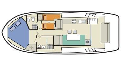 Horizon 2 (4+1) (Canal boat premier)  - 1