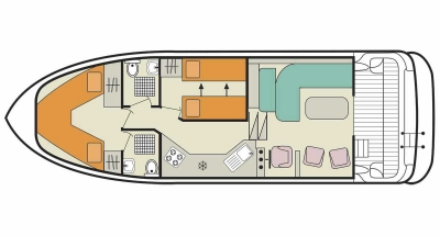 Caprice (4+2) (Canal boat comfort)  - 1