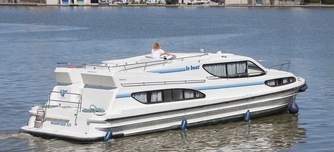 Magnifique (8+2) (Canal boat comfort)  - 0